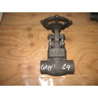 "GATE VALVE MANUAL - NEWCO - 1"" NPT - STORE SURPLUS"