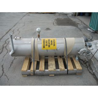 "TANK - 50 GAL - 1'4"" x 5'3"" STAINLESS STEEL (16"" x 63"") - HEATING TANK"