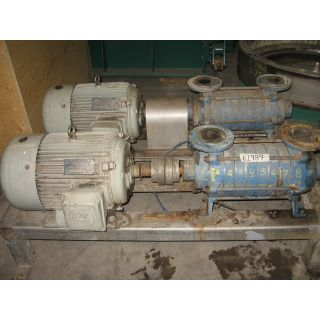 MULTISTAGE SELF-PRIMING PUMP - TRAVAINI - BT 653/2KC/A3
