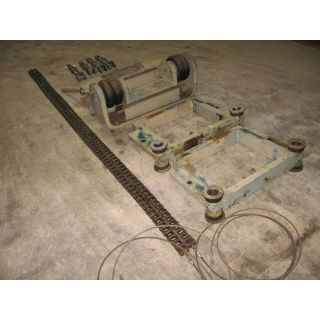 PAPER MACHINE FELT & WIRE GUIDE ASSEMBLY