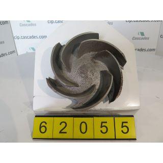 IMPELLER - GOULDS 3196 MT - 4 x 6 - 10 - Item 101 - Parts #: 100-527-1013 - FOR SALE