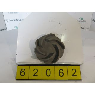 IMPELLER - GOULDS 3196 MT - 2 X 3 - 8 - Item 101 - Parts #: 100-161-1203 - FOR SALE