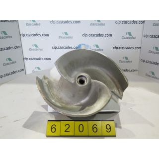 IMPELLER - GOULDS 3175 M - 8 x 10 - 18H - Item 101 - Parts #: 259-69-1203 - FOR SALE