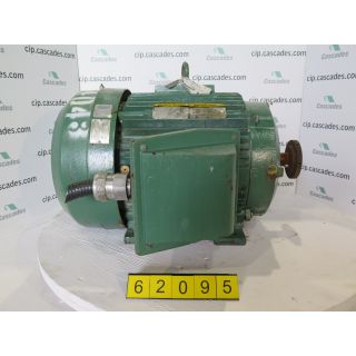 MOTOR - AC - BALDOR - 75 HP - 3555 RPM - 575 VOLTS