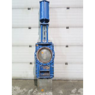 "KNIFE GATE VALVE - 16"" - STAFSJO - O-PORT - PNEUMATIC"