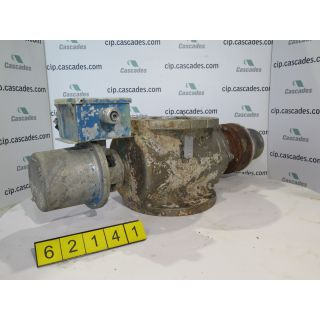 "USED BASIS WEIGHT VALVE - 8"" - DEZURIK"