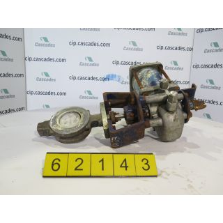 "BUTTERFLY VALVE - JAMESBURY 815W - 3"" - USED"