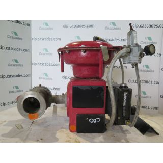"USED V-BALL VALVE - 4"" - MASONEILAN - ACTUATOR MASONEILAN - POSITIONER AUTOMAX MODEL: 4000 - FOR SALE"
