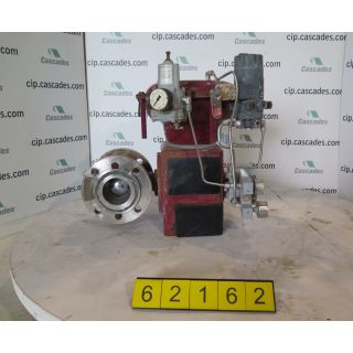 "V-BALL VALVE - MASONEILAN 33-36414 - 3"" - USED"