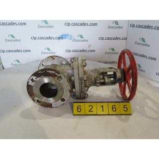"GATE VALVE MANUAL - NEWAY 3G1RA8 - 3"" - USED"