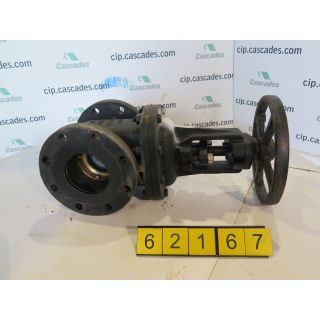 "GATE VALVE - 4"" - CRANE 465-1/2 - MANUAL - 200WOG"