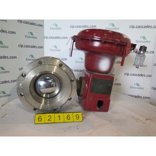 "V-BALL VALVE - 8"" - MASONEILAN 33-36424 - ACTUATOR MASONEILAN - POSITIONER PARAMAX - NEW SURPLUS FOR SALE"