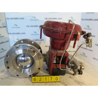 "V-BALL VALVE - MASONEILAN - 8"" - USED"