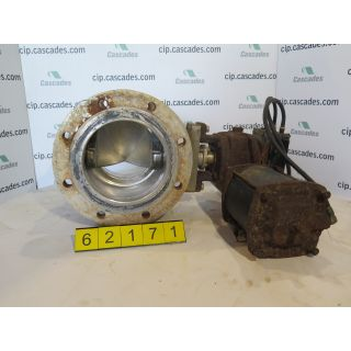 "V BALL VALVE - 8"" - DEZURIK - USED"