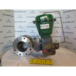 V-BALL VALVE - FISHER V150 - 6""