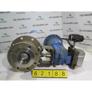 "V-BALL VALVE - 4"" - METSO-NELES - CLASS: 150 - 6"" to 4"" - FOR SALE"