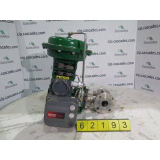 "V-BALL VALVE - FISHER V150 - 1.5"" - USED"