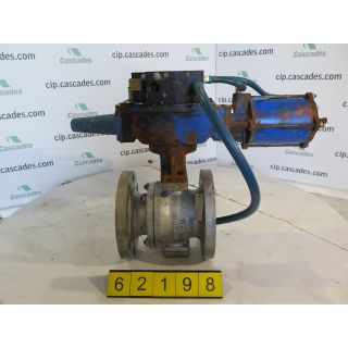 "V-BALL VALVE - DEZURIK 551 - 4"" - USED"