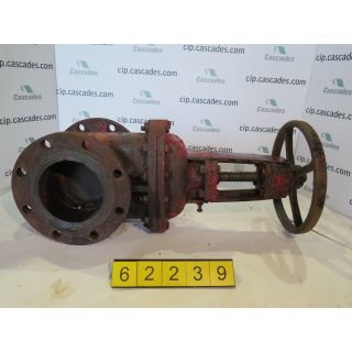 "GATE VALVE MANUAL - CRANE 6""- USED"