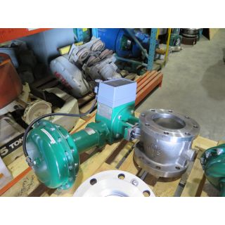 "V-BALL VALVE - FISHER V150 - 6"" - REFURBISHED"