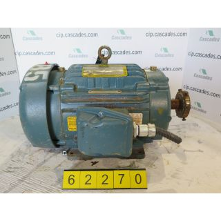 MOTOR - AC - BALDOR - 20 HP - 3600 RPM - 575 V - FRAME: 256T - FOR SALE - SUPER-E 841