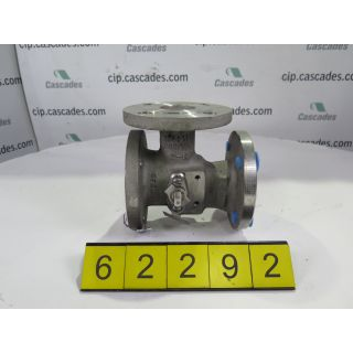 "BALL VALVE TRIWAY - NELES-JAMESBURY 3600 TT A - 2"" - USED"