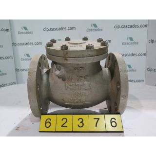 "CHECK VALVE - 4"" - KITZ - STORE SURPLUS"