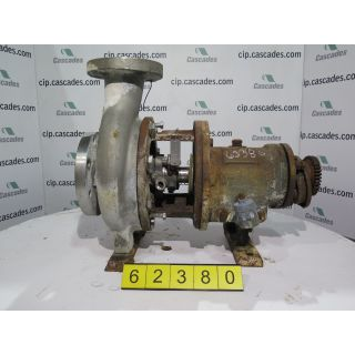 USED GOULDS PUMP 3196 MT - 3 x 4 - 8 - FOR SALE