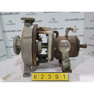 USED DURCO DURIRON MARK II PUMP - 2 x 1 - 10A / 94 - FOR SALE