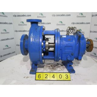 USED GOULDS PUMP 3196 MTX - 1.5 x 3 - 10 - FOR SALE