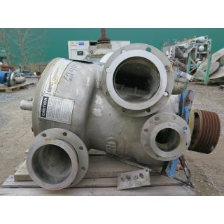 "USED PRESSURE SCREEN - BIRD 200 STB - HOLE BASKET 0.040"" - LOBE ROTOR - FOR SALE"