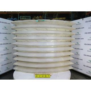 FOR SALE - SEGMENT OF WATER FILTER - POLCON VARGO - SIZE 4