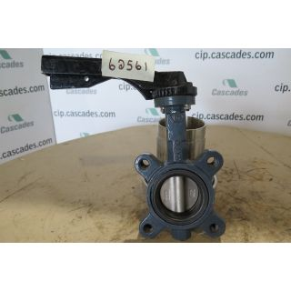 "BUTTERFLY VALVE - 2.5"" - STORE SURPLUS"