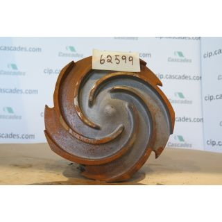 IMPELLER - GOULDS 3196 MT - 1 x 2 - 10 - Item 101 - Parts #: 76797-1013