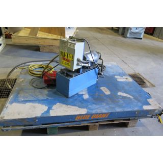 """LIFT TABLE BLUE GIANT - TABLE 52"""" x 63"""""""