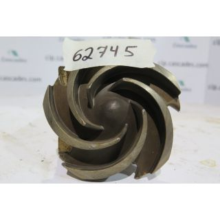 IMPELLER - GOULDS 3196 ST - 1 x 1.5 - 6 - Item 101 - Parts #: 76781-1203
