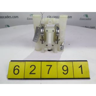 NEW PUMP - WILDEN P.025 - ORIGINAL SERIES PLASTIC PUMP - FOR SALE - MODEL: P.025-PPPP-WF-TF-PWF-AOD