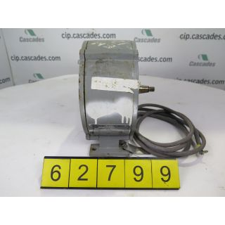 MOTOR - AC - KONE - 0.9 KW - 3540 RPM - 575 VOLTS - MODEL: MC12S1K13804A - FOR SALE