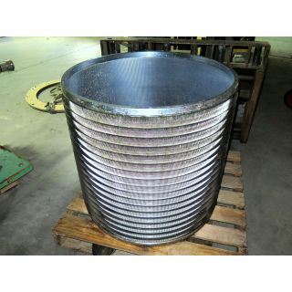 "BASKET SLOTTED 0.010"" - 0.25 mm - VOITH 20 - C-BAR SE"