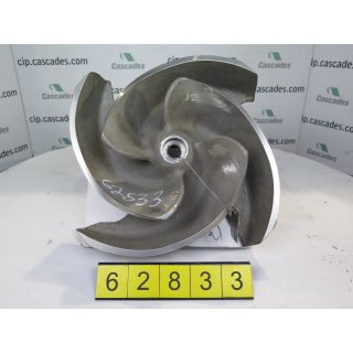 IMPELLER - GOULDS 3175 M - 8 x 10 - 18H - Item 101 - Parts #: 259-89-1203 - FOR SALE