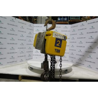 MANUAL CHAIN HOIST - 2 TON - ACCO WRIGHT