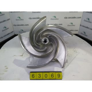 IMPELLER - GOULDS 3175 M - 6 x 8 - 22 - Item 101 - Parts #: D00125A02-1203 - FOR SALE