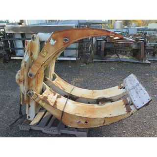 "USED PAPER ROLL CLAMPS - 80"" - 10 000 LB - CASCADE - MODEL: 100F-RCP 1 - FOR SALE"