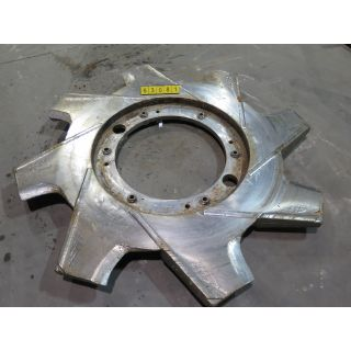"USED PULPER ROTOR - VOKES ROTOR - KADANT BLACK CLAWSON - 68"" - FOR SALE"