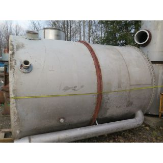 "USED TANK, STAINLESS STEEL TANK 7' X 10' - (87"" X 120"") - FOR SALE"