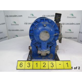 1 OF 2 - USED PUMP - DIAPHRAGM PUMP - SANDPIPER - MODEL: SA1-A - FOR SALE