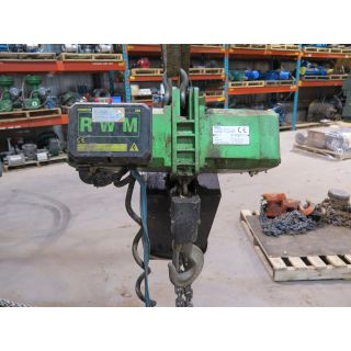 ELECTRIC HOIST - 2 TONS - RWM W2000T1V1