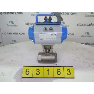"BALL VALVE - 1.5"" - JAMESBURY 9FB 3600 XTB - VPVL Pneumatic Actuators"