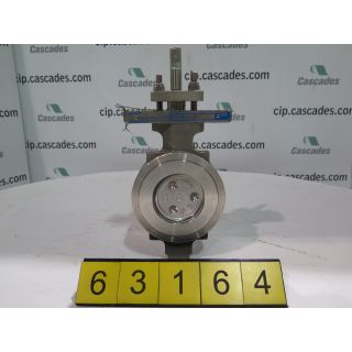 "BUTTERFLY VALVE - 3"" - JAMESBURY 815W Wafer-Body Design - CLASS: 150"