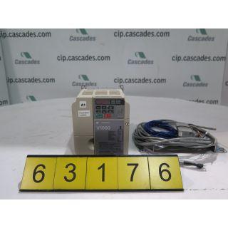 COMPACT VECTOR CONTROL DRIVE - YAMASKAWA V-1000